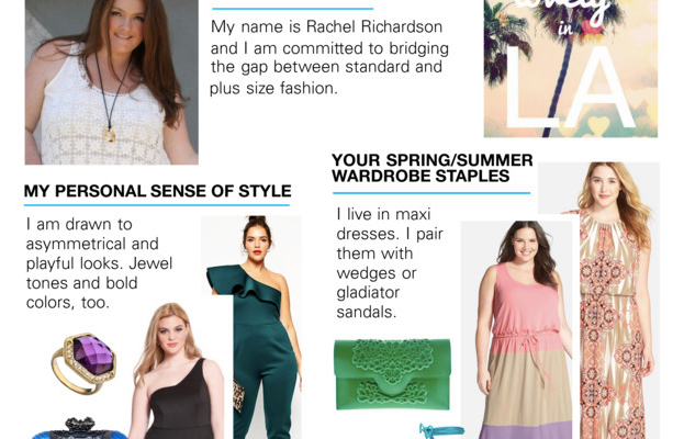 Polyvore Plus Size Launch Collaboration