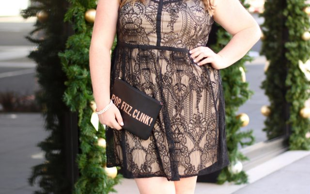 Lovely in LA Maurices Holiday Plus Size Dress  Lace