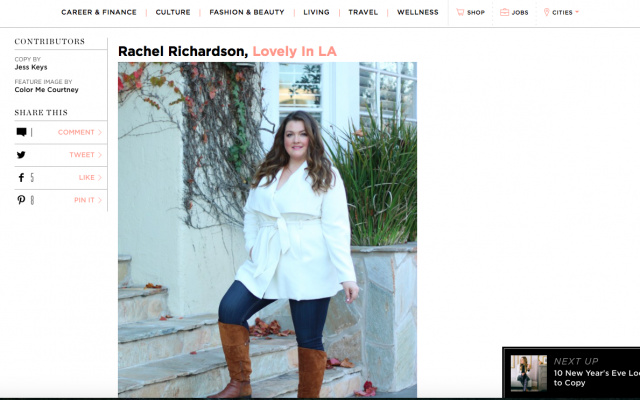 lovely in la the every girl winter favorites plus size fashion