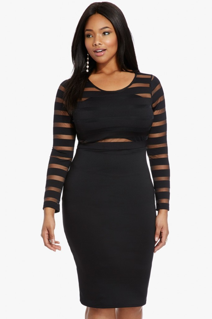 lovely in la fashion to figure new years eve party dress plus size