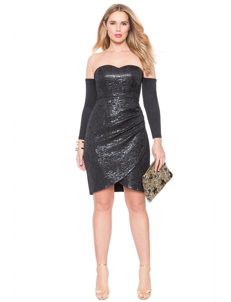 LOVELY IN LA NEW YEARS EVE DRESS IDEAS PLUS SIZE DRESSES PLUS SIZE FASHION LITTLE BLACK DRESS