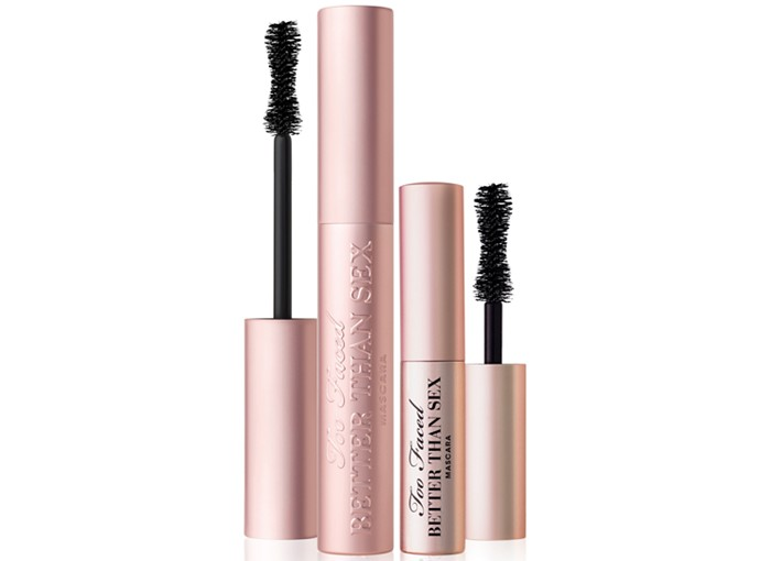 lovely in la friday favorites too faced mascara ulta macys cosmetics beauty