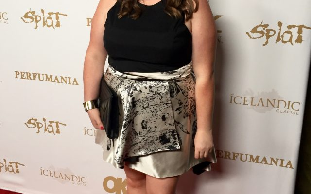 Lovely in LA Rachel Richardson OK Magazine Grammy Party Rent the Runway  Top Plus Size Blogger Curvy Fashion