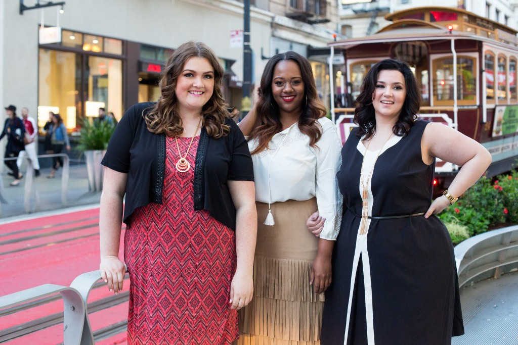 Lovely in LA Catherines Plus Sizes San Francisco Union Square blogger los angeles curvy