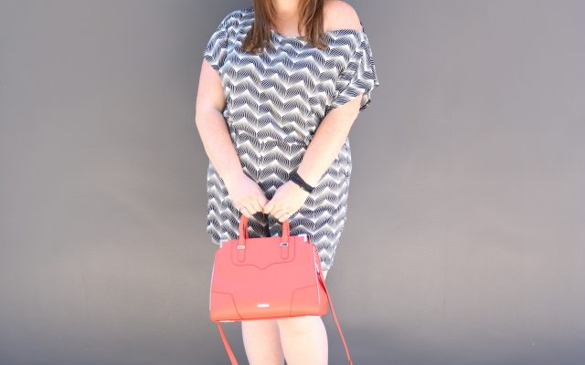 lovely in la romper gwynnie bee top plus blogger los angeles beverly hills west hollywood plus size fashion rebecca minkoff red satchel