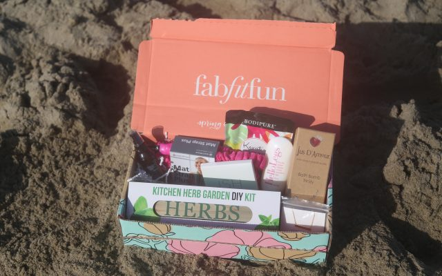 fabfitfun code $10 off lovely10 lovely in la plus size blogger monthly subscription box