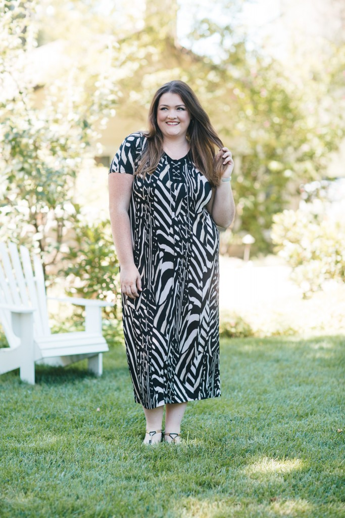 lovely in la catherines style ambassador plus size blogger exotic elements maxi dress