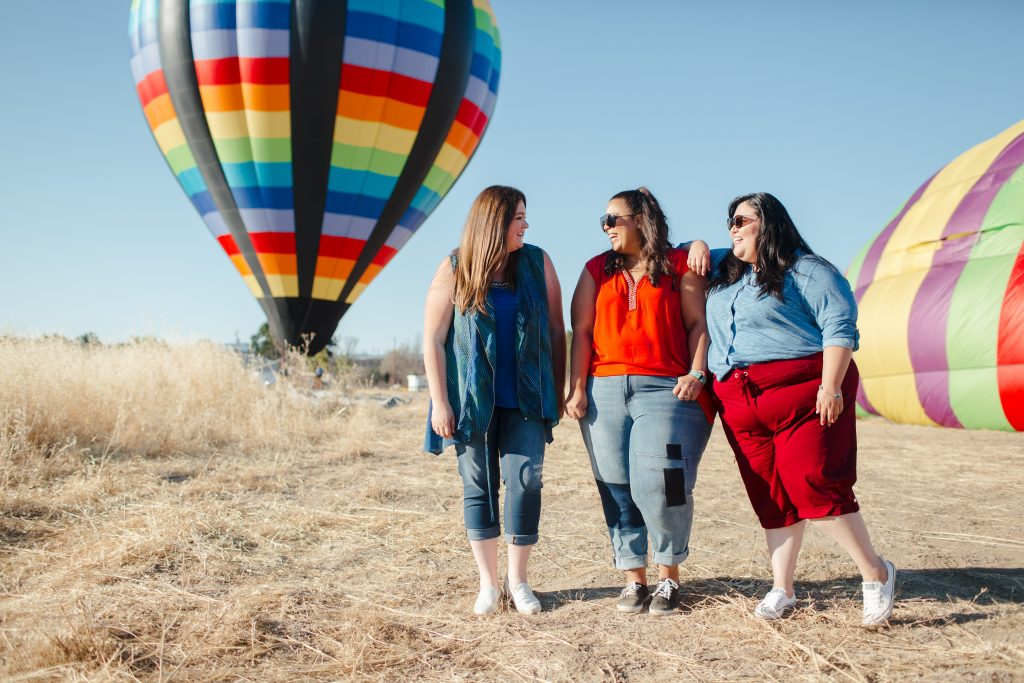 lovely in la catherines sonoma hot air balloon ride