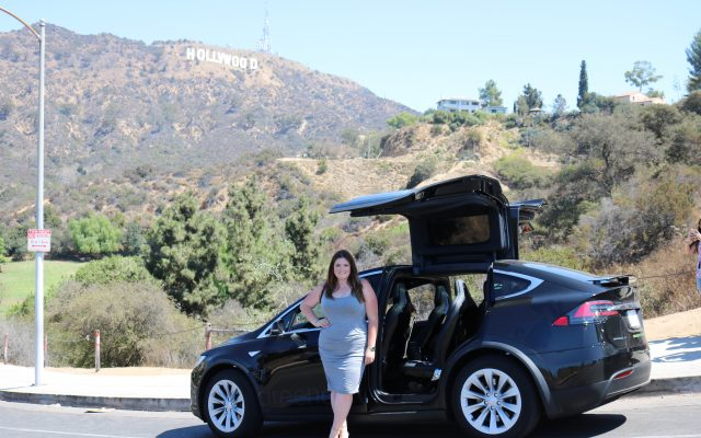 lovely in la tesla motors green commuter los angeles four seasons santa barbara