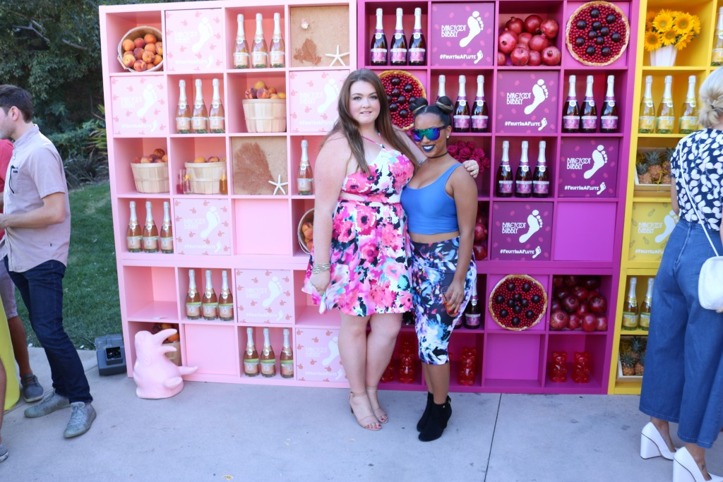 lovely in la barefoot bubbly event los angeles beverly hills plus size blogger lifestyle blogger debshop floral dress