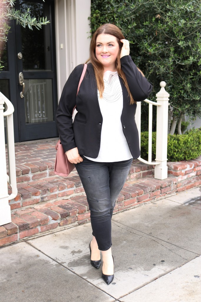 Lovely in La PLVSH Plus Size Subscription Service Box Plus Size Blogger Concierge Styling Service