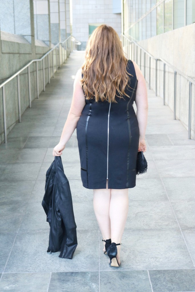 lovely in la of mercer black bowery dress plus size workwear