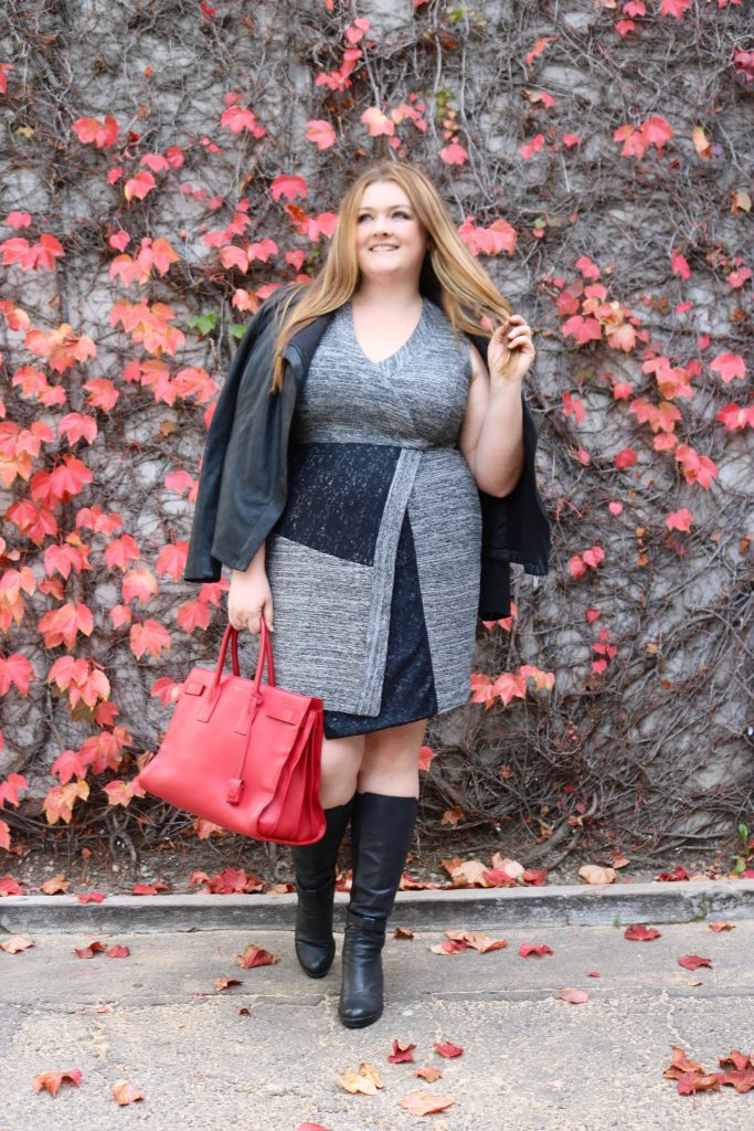 lovely in la gwynnie bee rachel rachel roy curvy dress winter fashion plus size top blogger los angeles