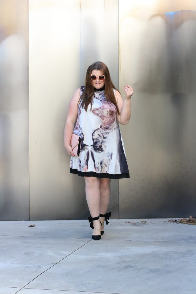 trendy curvy plus size dress elvi nordstrom lovely in la trapeze dress