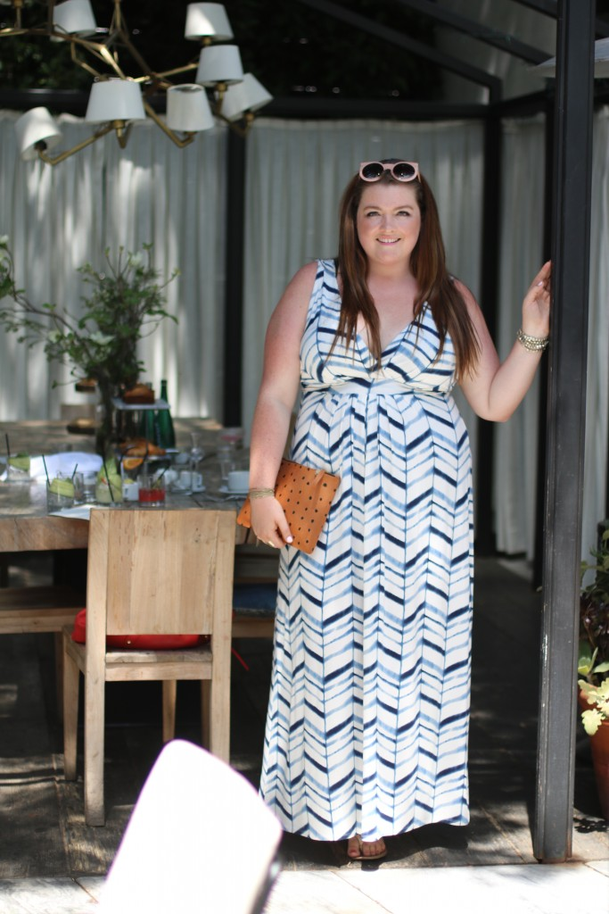 Ysabel Brunch West Hollywood Tart Collections Chloe Maxi Dress Trendy Curvy Plus Size Clothes