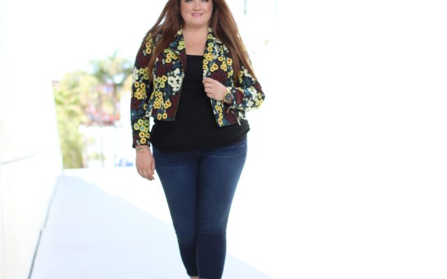 rachel rachel roy floral jacket gwynnie bee month free trial lovely in la