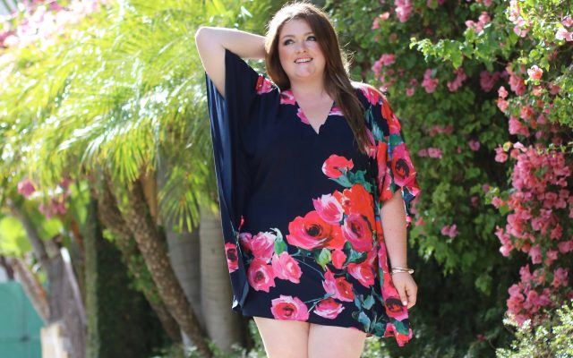ripley rader plus floral caftan lovely in la trendy curvy dresses summer legs
