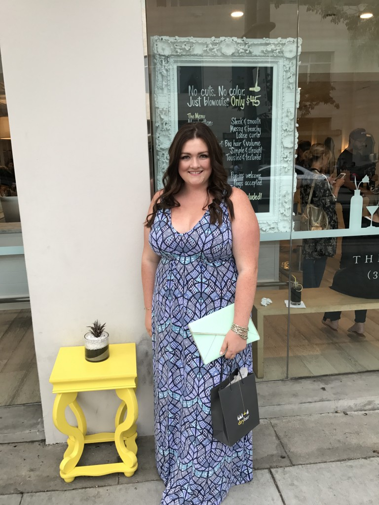 drybar beverly hills on the rocks cheers to charcoal event
