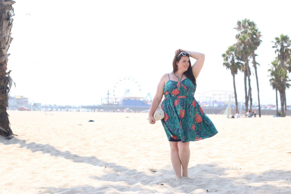 ModCloth Guests Welcome Convertible A-Line Dress in Tropical in 3X