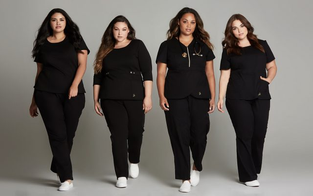 Stylish Plus Size Scrubs Jaanuu Curve Launches