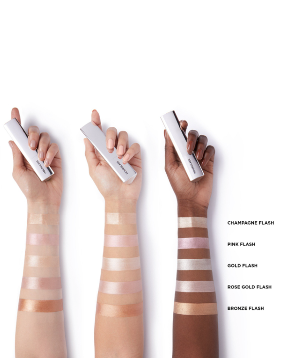 Vansih Flash Highliter reviews hourglass cosmetics lovely in la