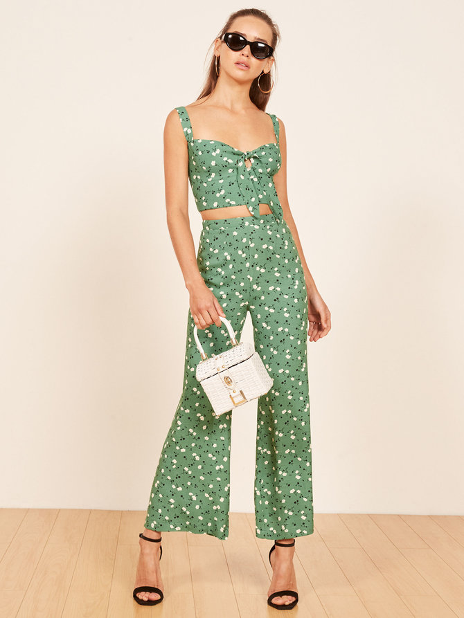 reformation brandi two piece