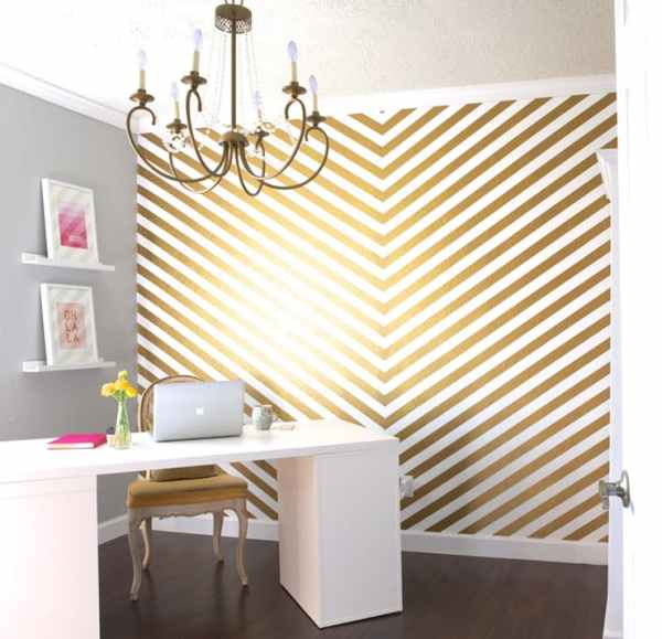 10 wonderful washi tape wall decor ideas