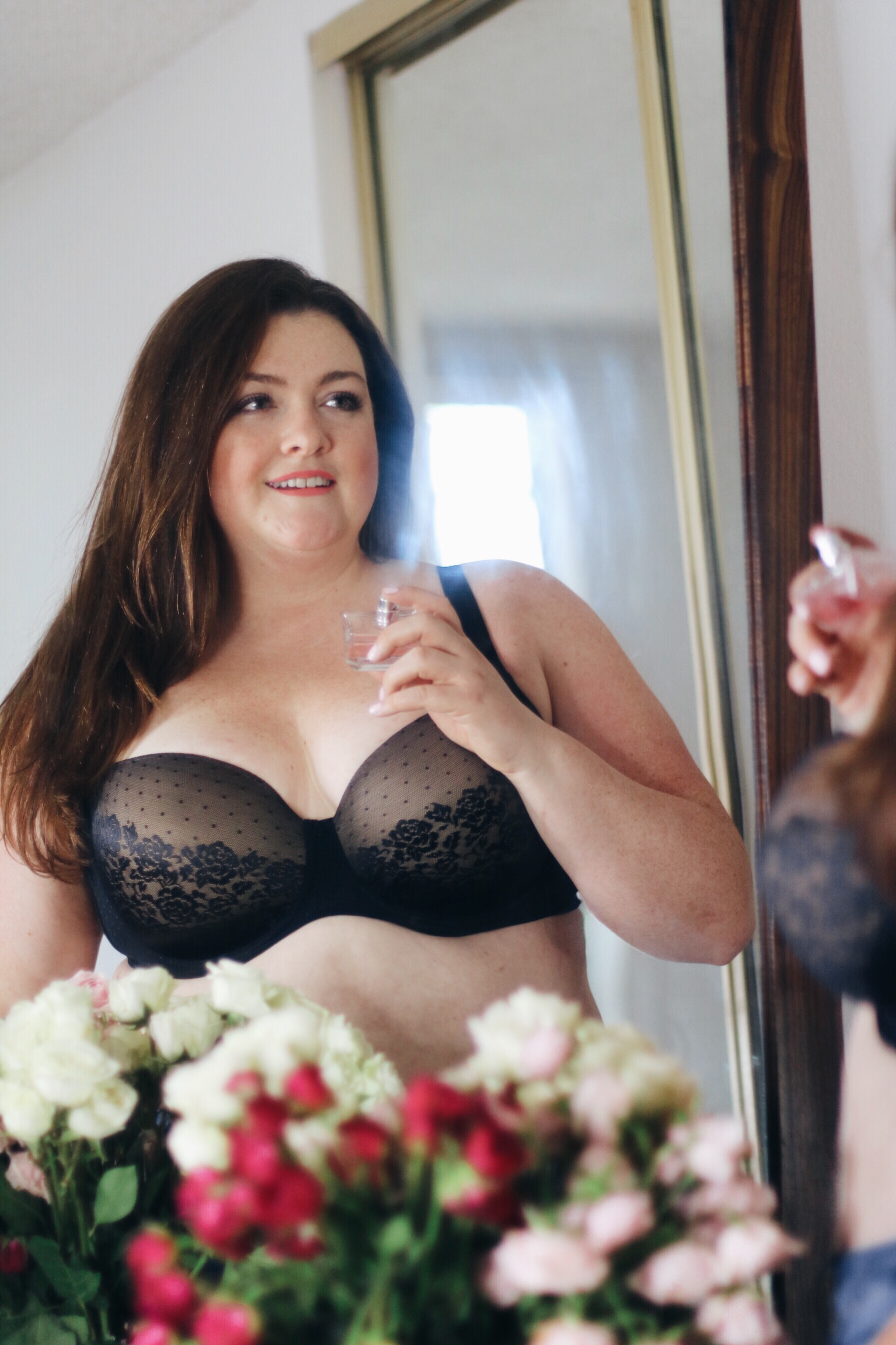 950bf3c8faf4 THE BRA YOU WILL WANT TO SLEEP IN - SOMA INTIMATES ENBLISS COLLECTION -  Lovely In LA - Contemporary Plus-Size Fashion