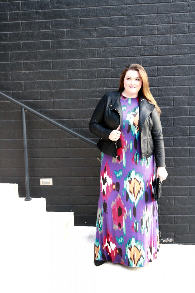 Lovely in LA Rachel Pally Romie Dress White Label Cold Shoulder Maxi