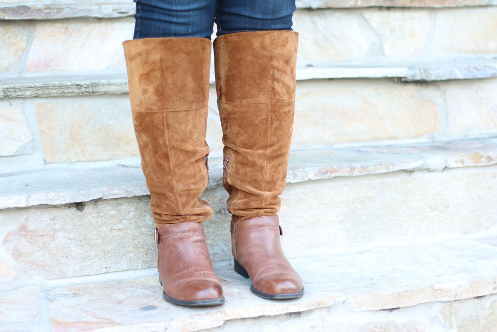 Lovely in LA Naturalizer July Knee High July Boot Plus Size Fashion Los Angeles