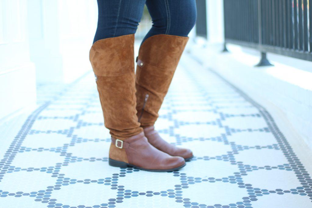 Lovely in LA Naturalizer July Boots Plus Size Style LA Blogger