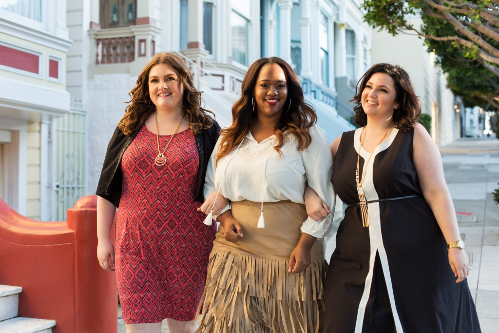 lovely in la painted ladies san francisco full house plus size blogger catherines plus sizes