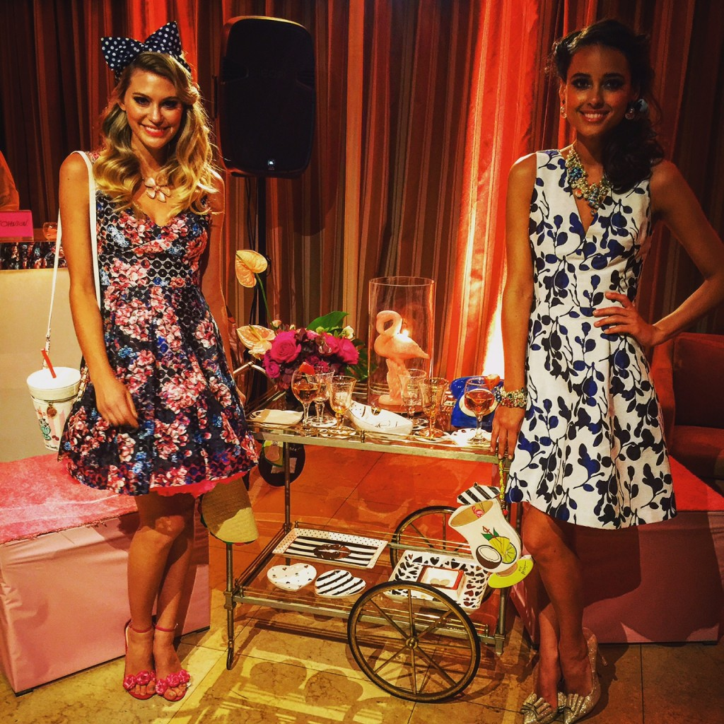 lovely in la betseys bash sunset tower hotel pink flamingos betsey johnson collection