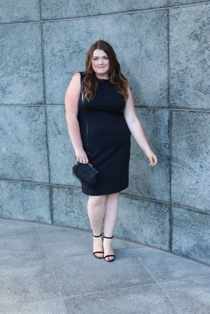 lovely in la of mercer bowery black dress workwear plus sizes