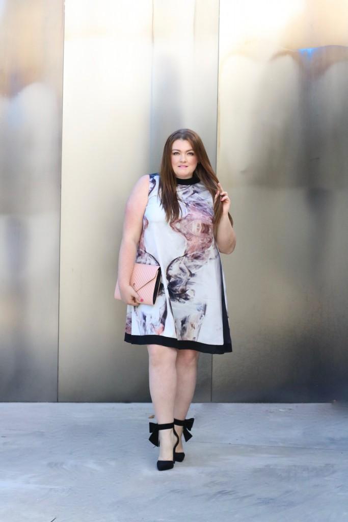 trendy curvy plus size dress elvi premium printed dress lovely in la nordstrom plus sizes trapeze dress