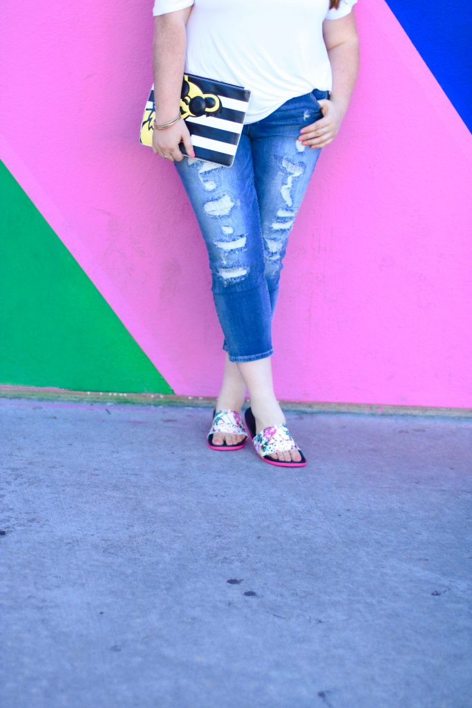 Top Summer Comfort Sandals Adidas Adilette Floral