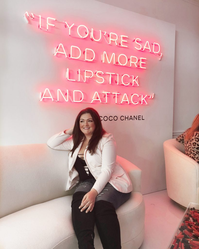 Chanel Beauty House Pop Up Sunset Boulevard Lovely in LA