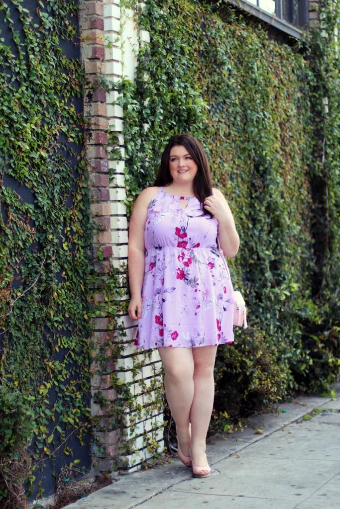 spring dress trends maurices keyhole floral dress