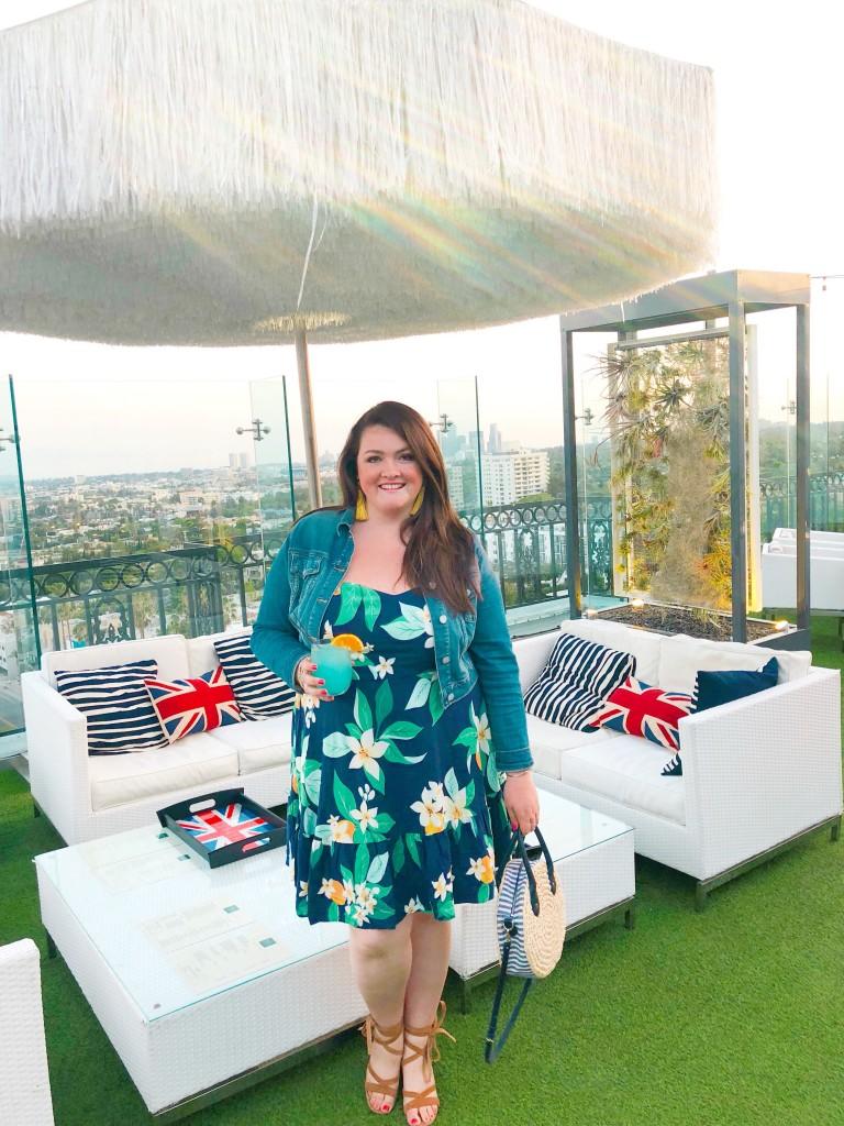 lovely in la favorite rooftops los angeles old navy dress