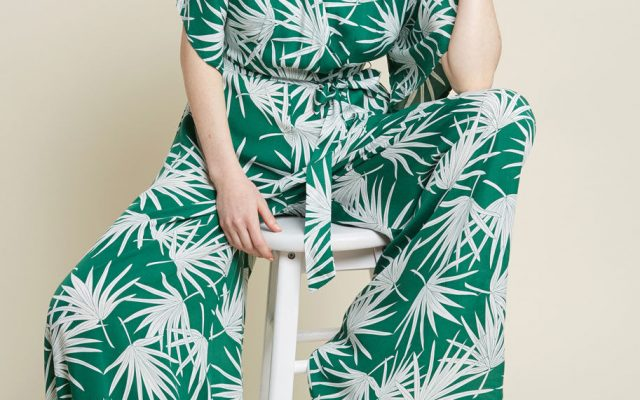 modcloth collectif x mc expressive essence wide leg jumpsuit