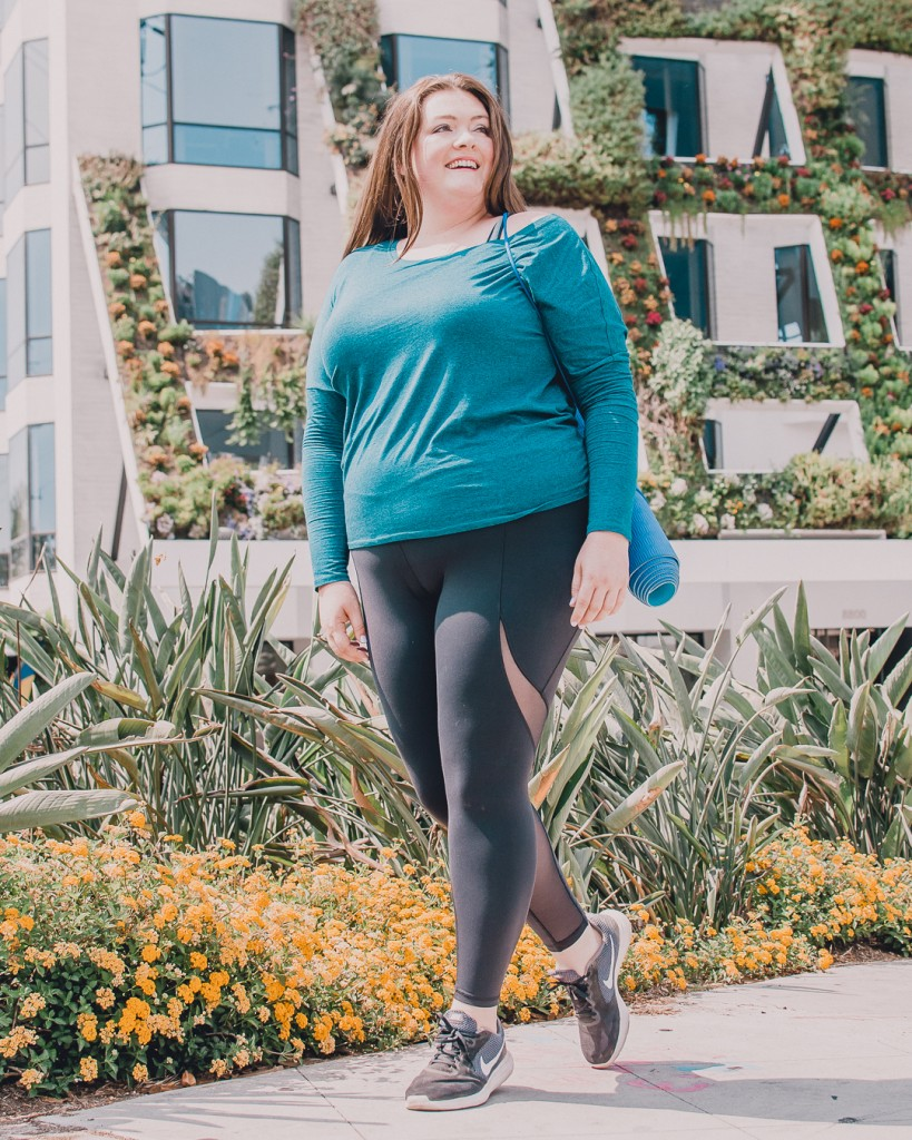 Calia plus size activewear review lovely in la