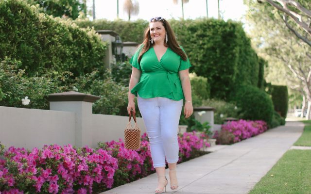 loft-green-wrap-top-plus-size