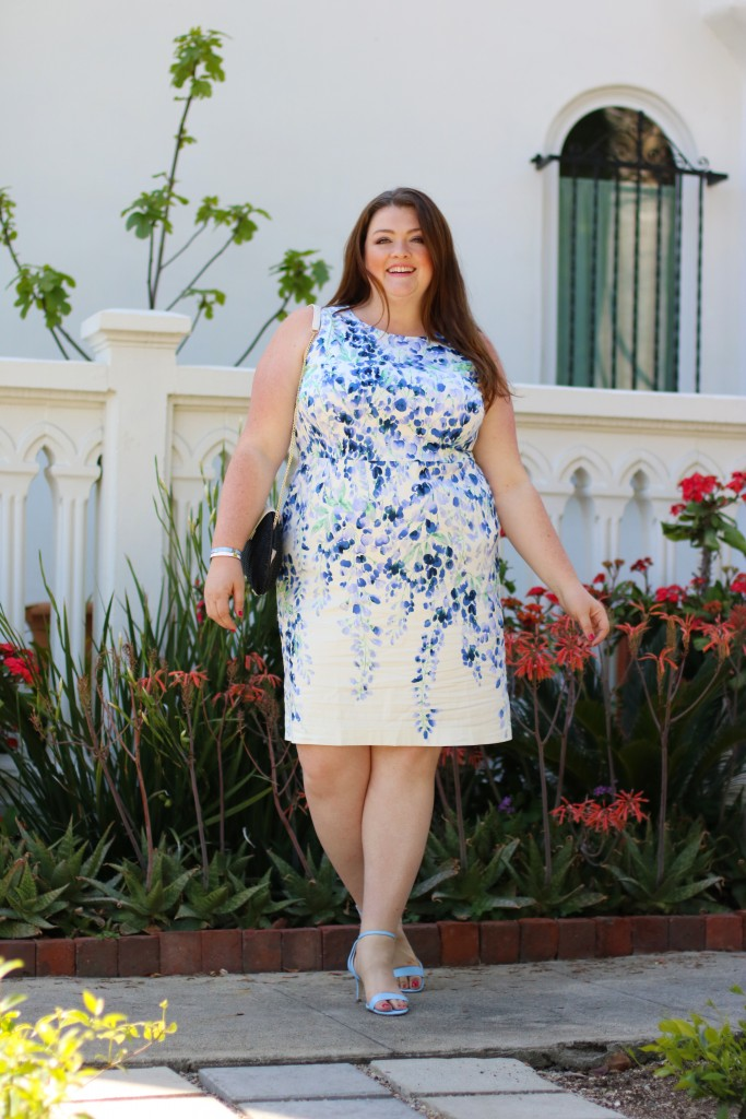 talbots-pastel-sheath-dress-plus-size