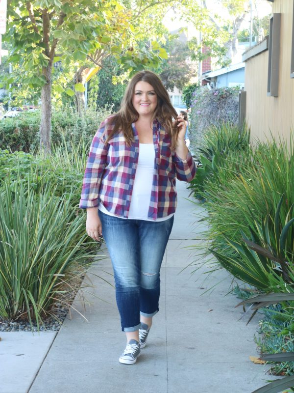 lovely in la maurices fall trends venice beach ca top plus size blogger